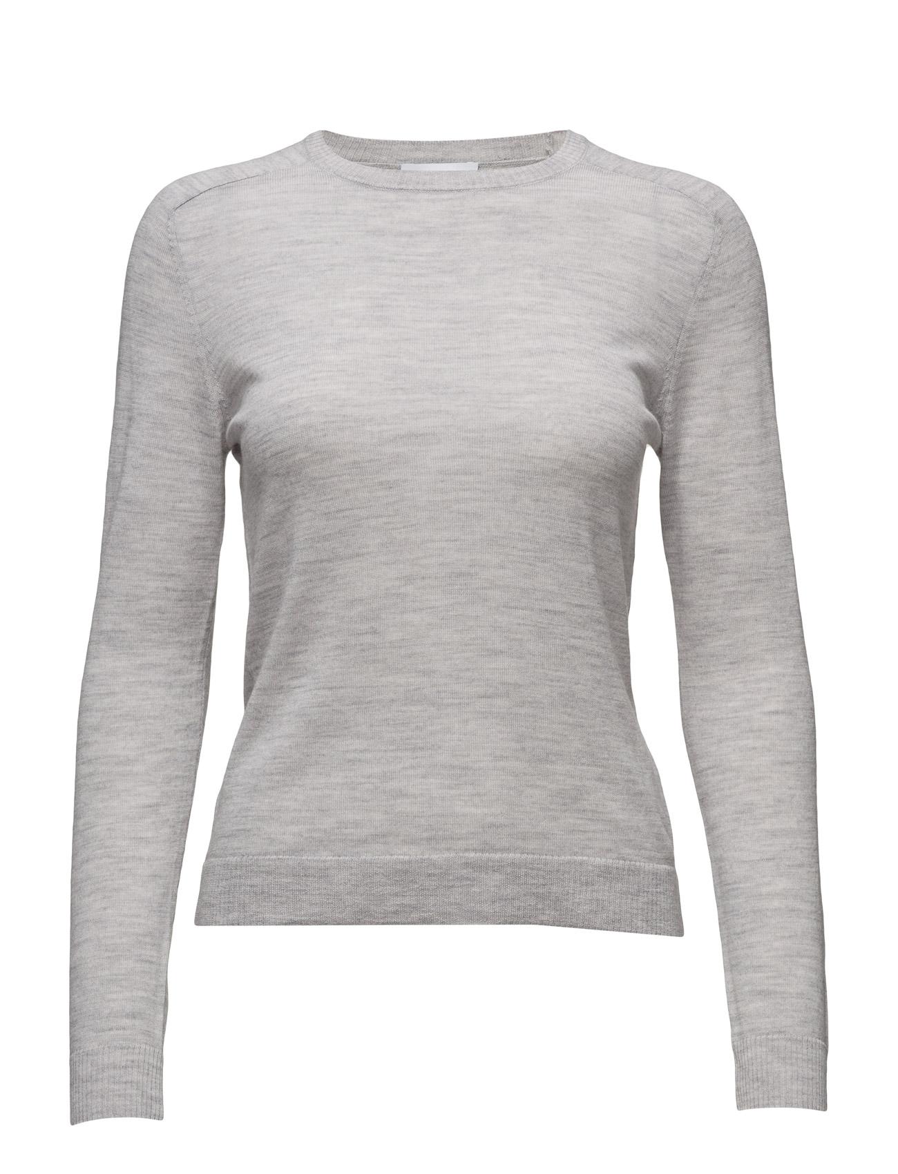 2nd Jessie 2NDDAY Sweatshirts til Damer i Light Grey Mel.