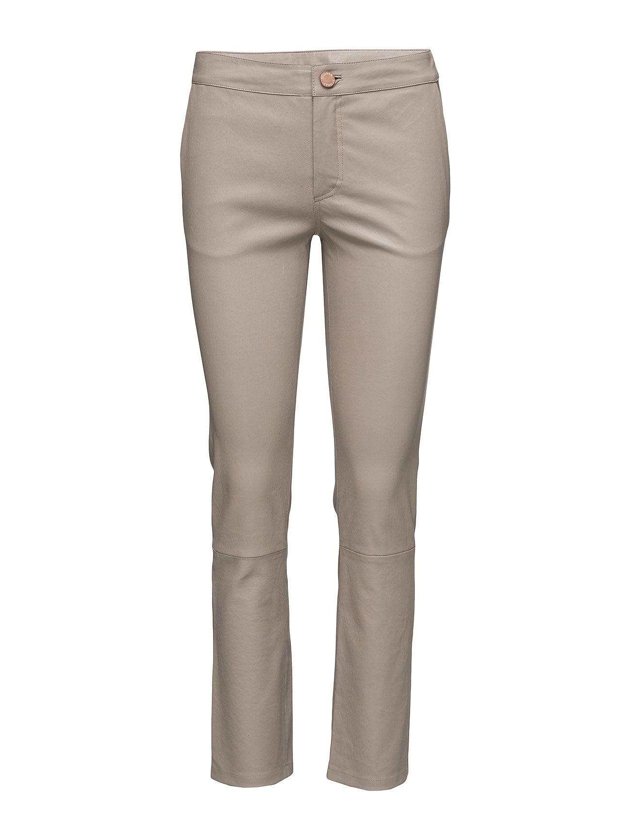 2nd Leya 2NDDAY Læder leggins & bukser til Kvinder i Perle