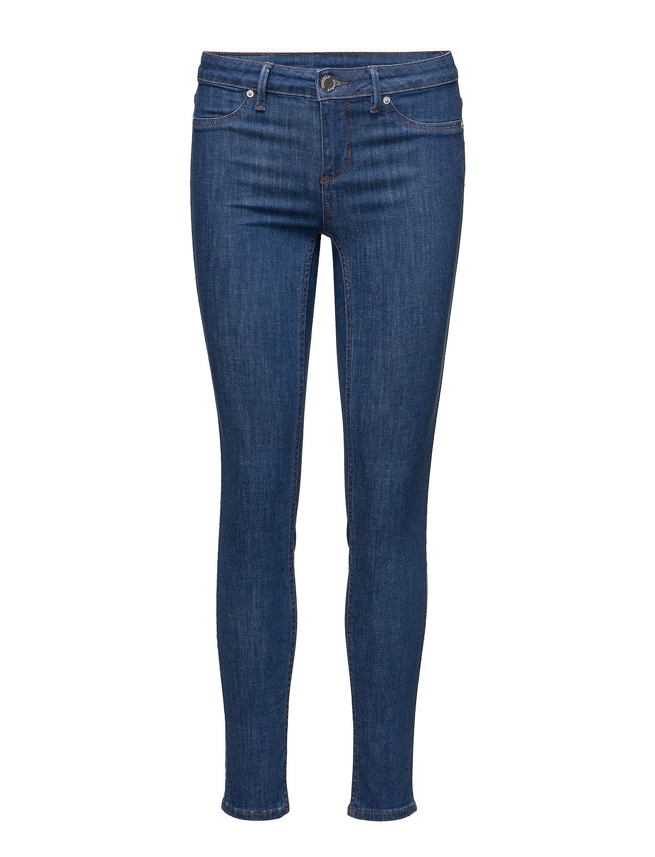 2nd Jolie Crop Soft Blue 2NDDAY Skinny til Damer i Bright blå