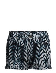2ND Feather Shorts - Blue Indigo