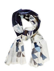 2ND Geo Scarf - Ensign Blue