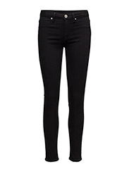 2ND Jolie Cropped Boss - BLACK DENIM