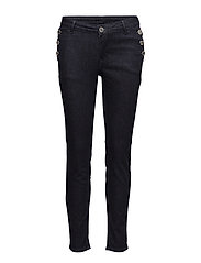 2ND Sally Cropped Sailor - MID BLUE