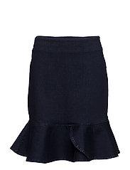 2ND Fable Skirt - RINSE DENIM