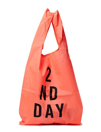 2ND DAY 2ND Bag - Neon Peach