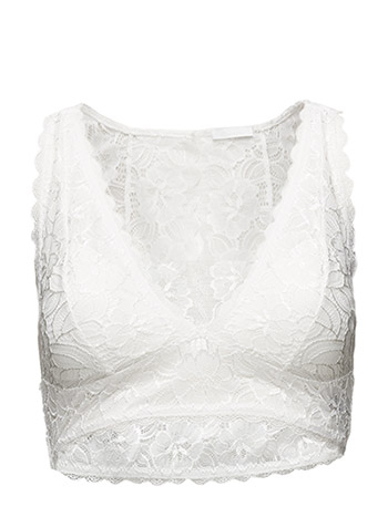 2ND DAY 2ND Lace Padded - WHITE