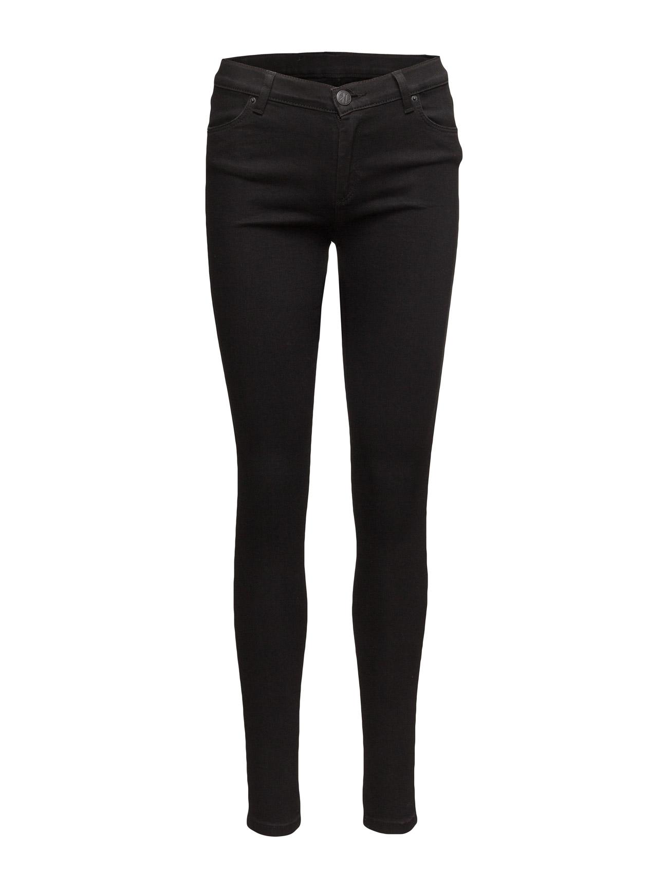 Nicole 002 satin black, jeans fra 2nd one fra boozt.com dk