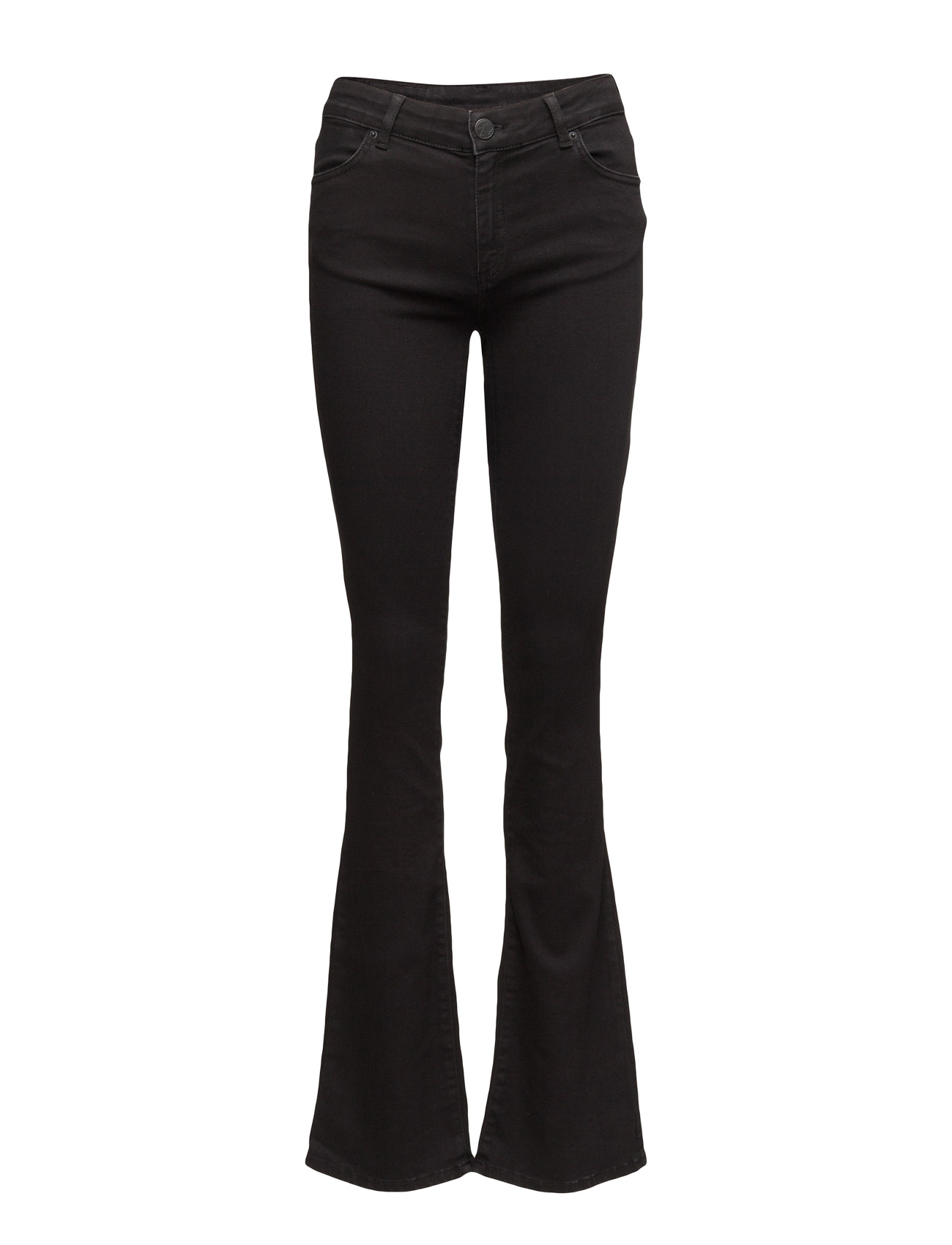 2nd one Uma 002 satin black, jeans (33) fra boozt.com dk