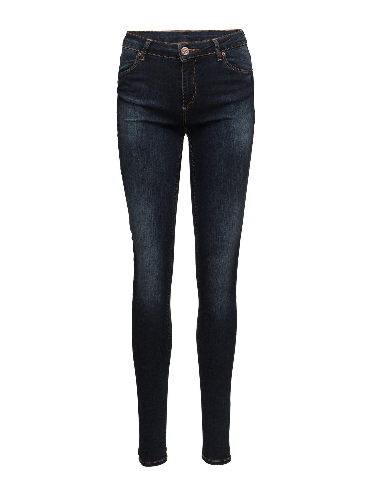 Nicole 014 Blue Midnight, Jeans 2nd One Skinny til Damer i