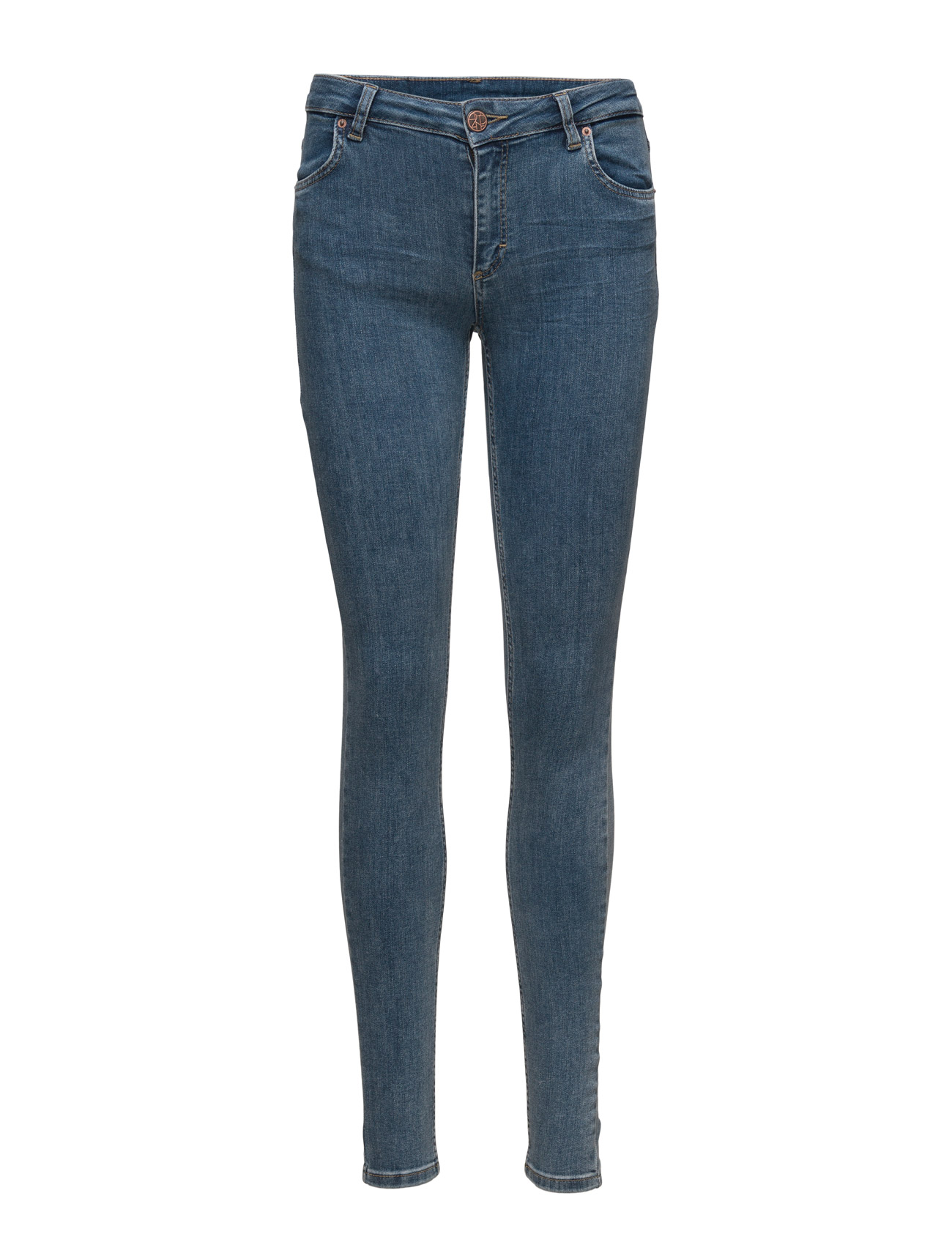 Nicole 015 Stone Clarity, Jeans 2nd One Skinny til Damer i