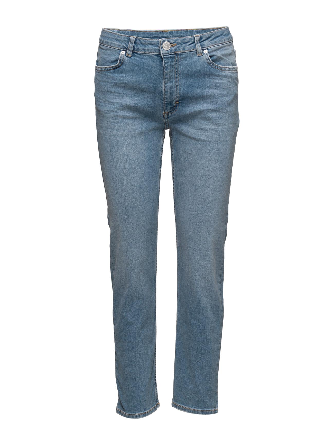 2nd one Malou 084 crop, blue worth, jeans på boozt.com dk
