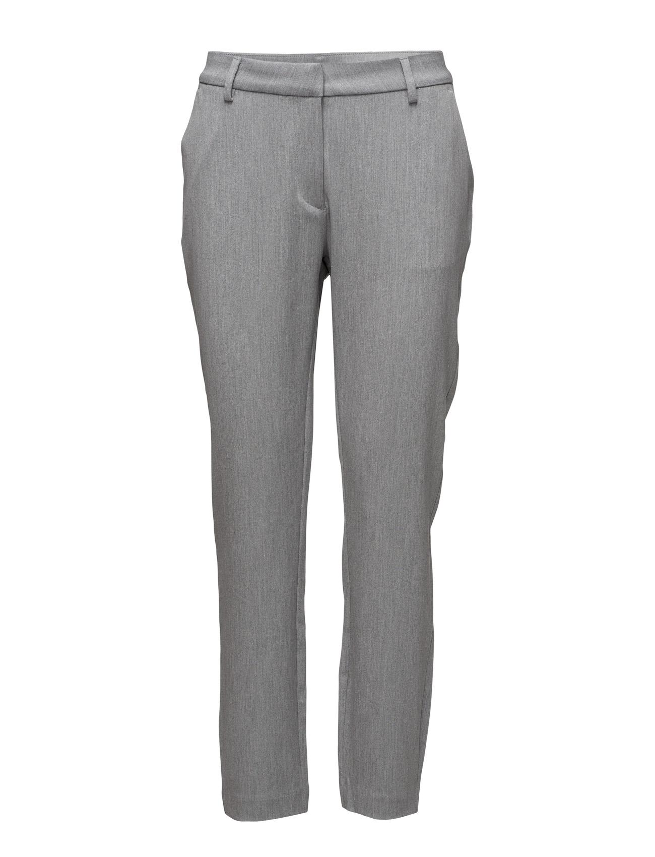 Carine 111 Light Melange, Pants 2nd One Bukser til Kvinder i