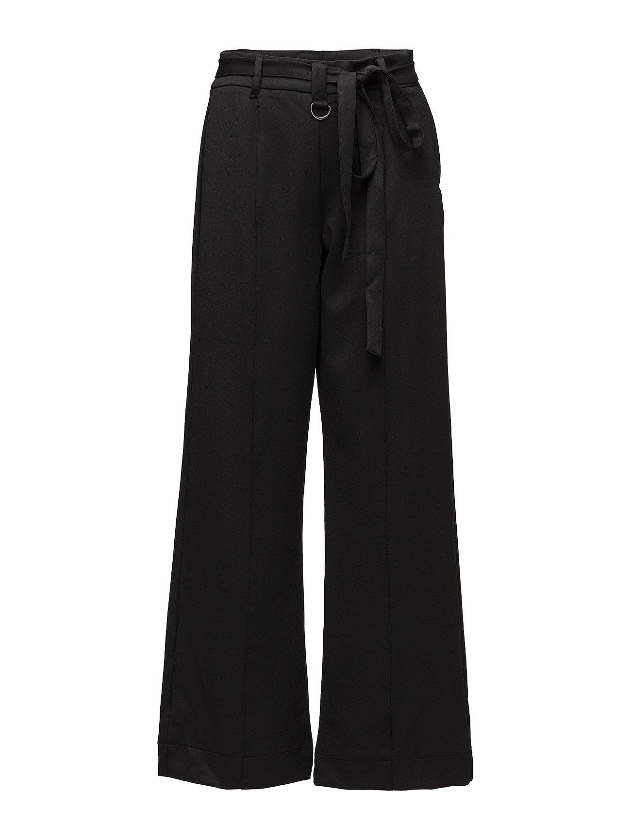 2nd one Hailey 819 black shine, pants på boozt.com dk