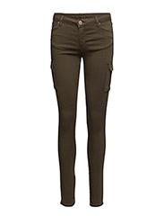 Nicole 006 Troop, Artillery Green, Jeans - ARTILLERY GREEN