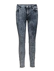 Nicole 015 Zip, Showy Blue, Jeans - SHOWY BLUE