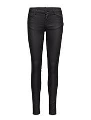 Nicole 108, Mat Black Coated, Pants - MAT BLACK COATED