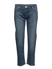 Malou 084 Crop, Blue Heritage, Jeans - BLUE HERITAGE