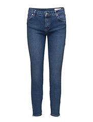 Nicole 084 Zip, Blue Waltz, Jeans - BLUE WALTZ