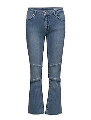Janelle 833 Raw Light Stone Blue, Jeans - RAW LIGHT STONE BLUE