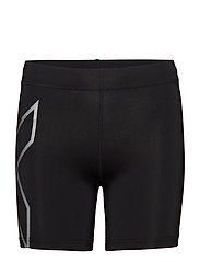 Compression 5 inch Shorts - BLACK/SILVER