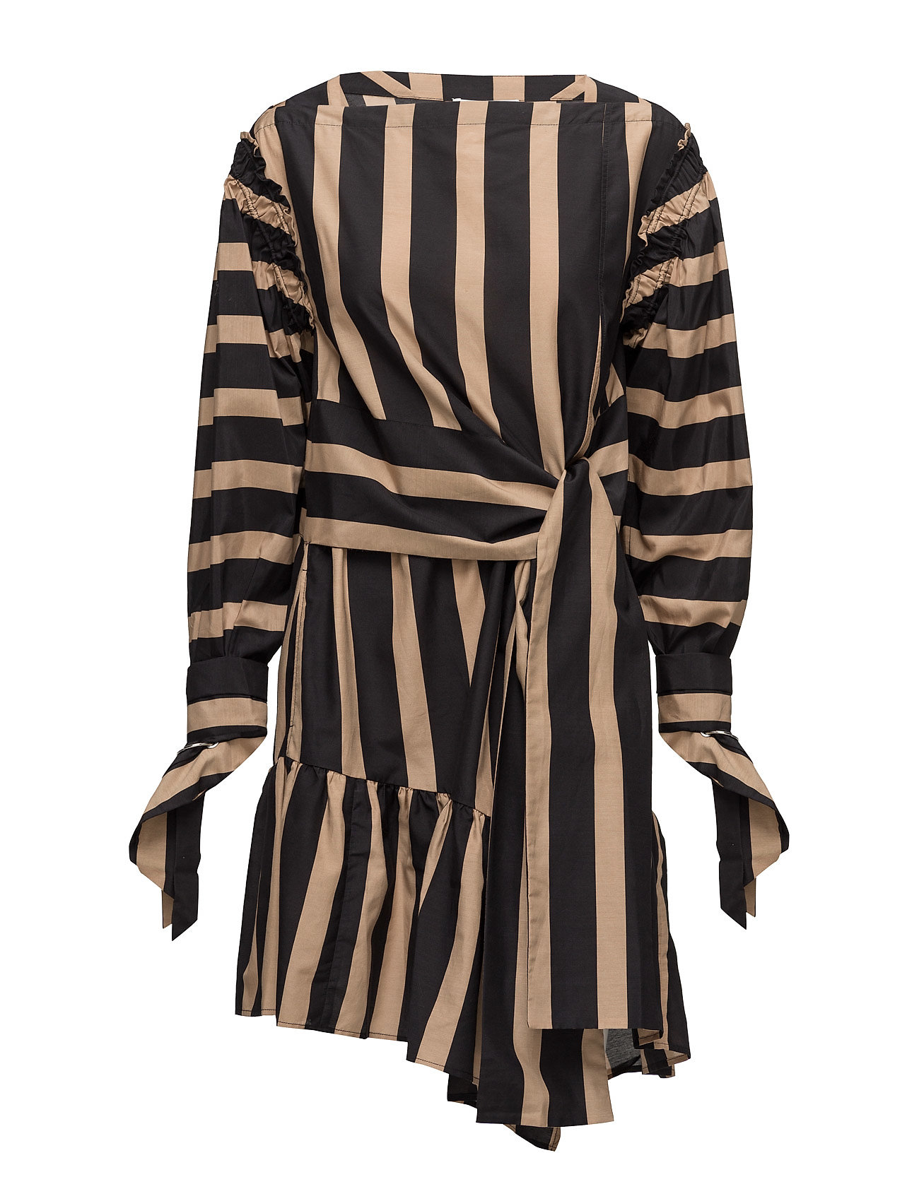 Ls striped dress w piercing sleeve fra 3.1 phillip lim på boozt.com dk