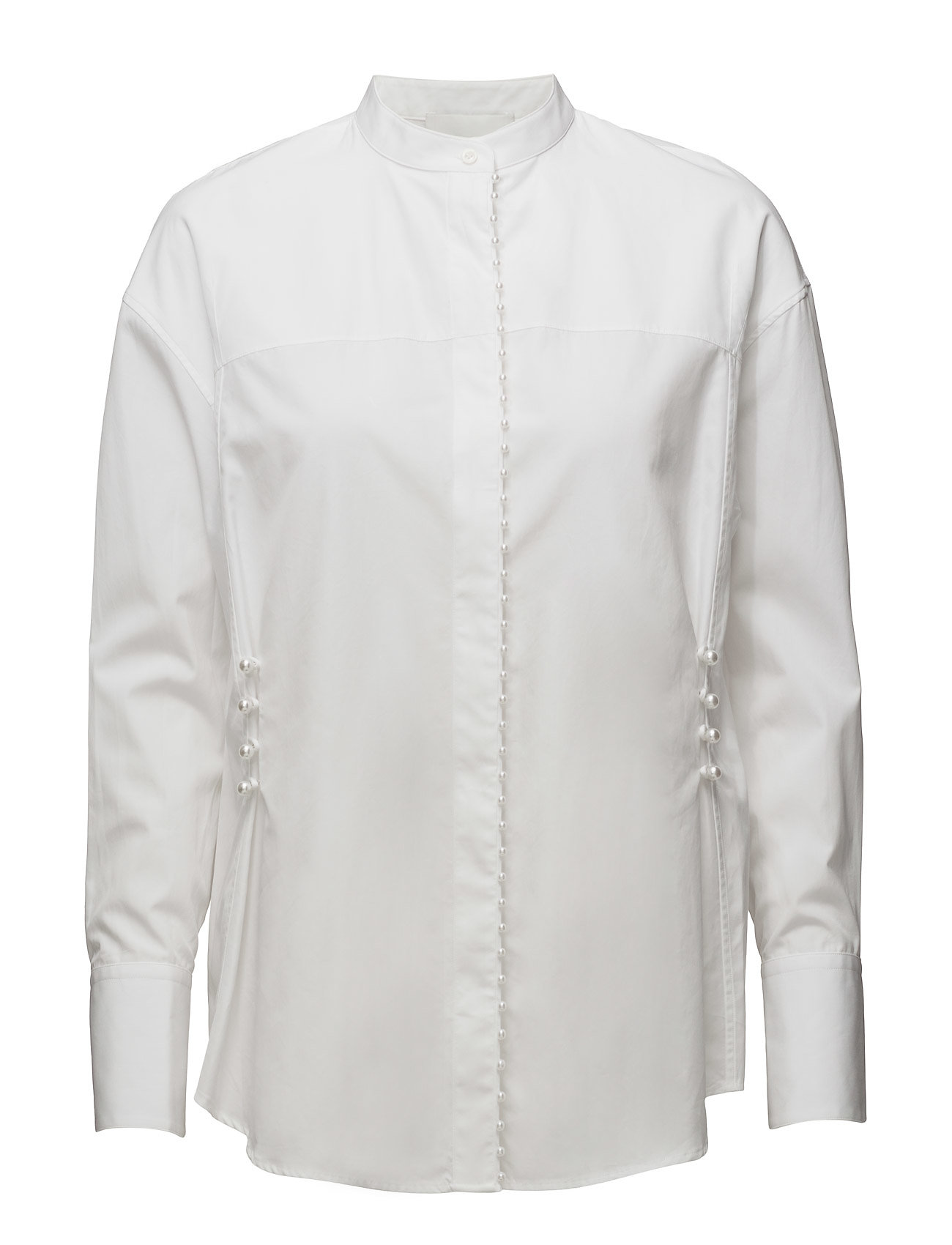 Ls Blouse W Pearl Embroidery 3.1 Phillip Lim Langærmede til Damer i hvid
