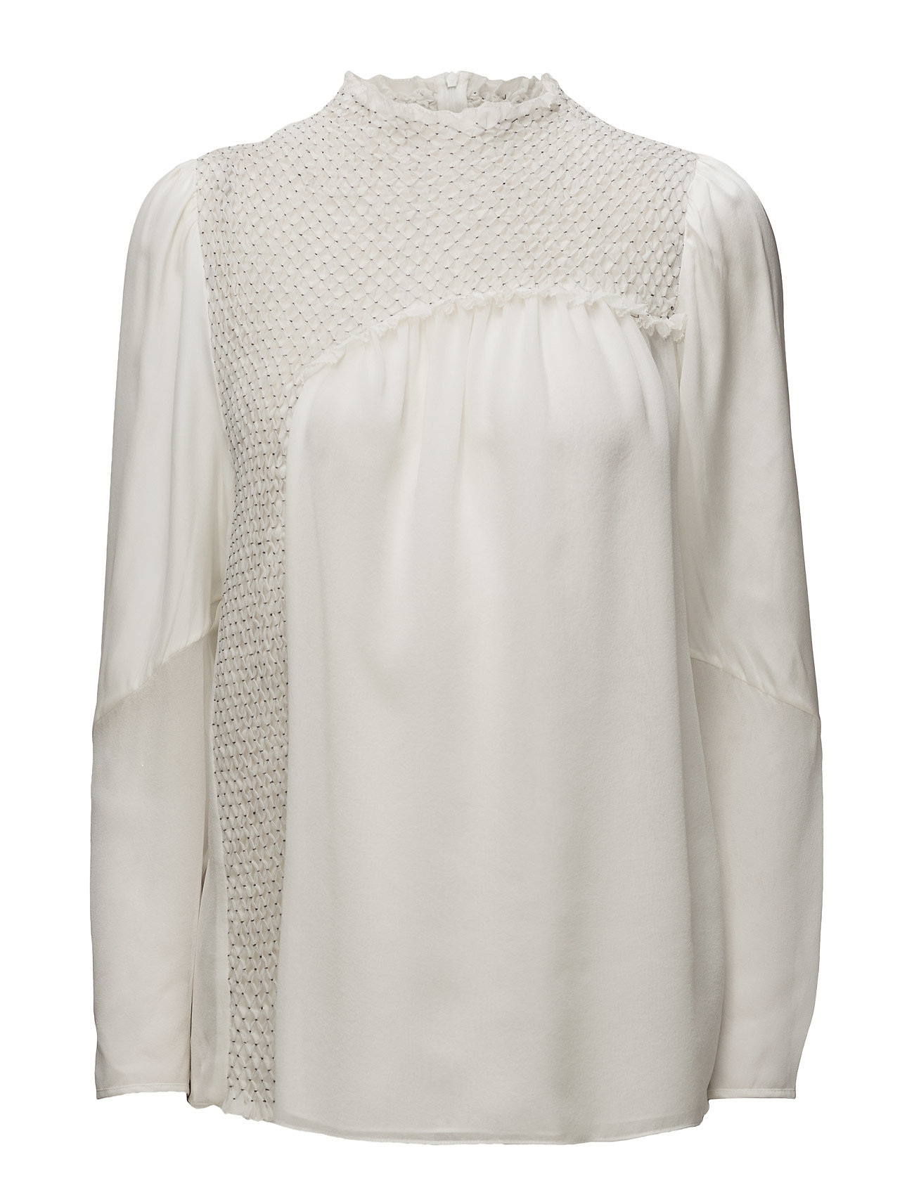 Ls top with diamond smocking fra 3.1 phillip lim på boozt.com dk