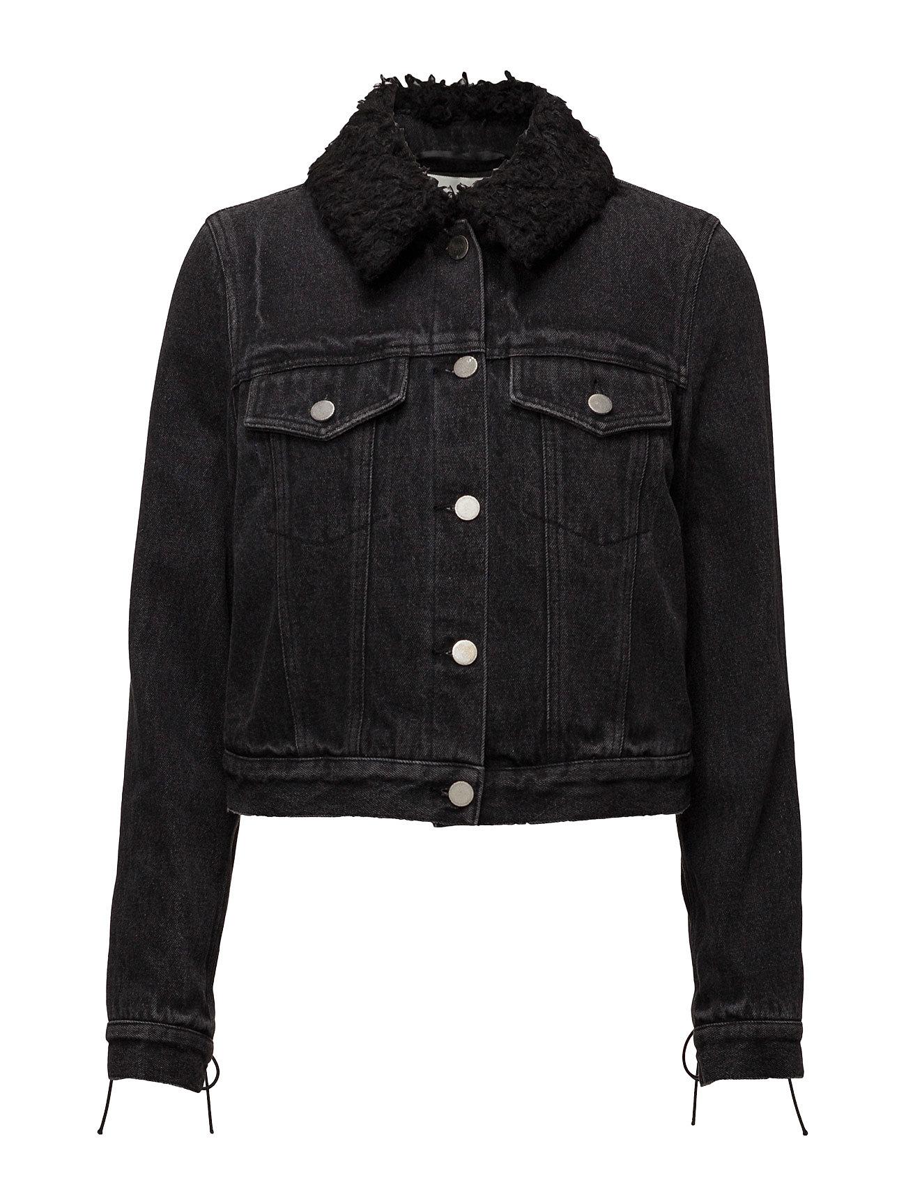 Denim jacket w sherpa collar fra 3.1 phillip lim på boozt.com dk