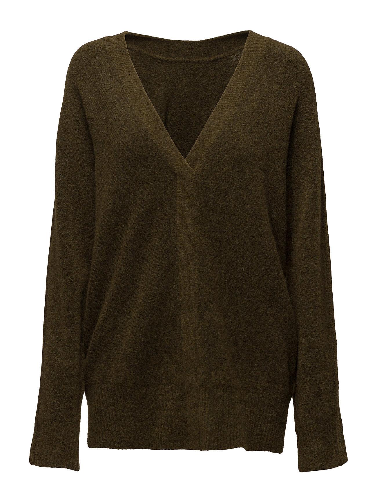 Ls Sweater W Back V 3.1 Phillip Lim Cardigans til Damer i Grøn