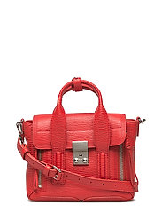 Pashli mini satchel - RED-NICKEL