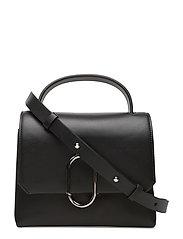 Alix mini top handle satchel - BLACK