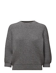 3/4 MOHAIR WOOL R PO - CHARCOAL