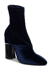 KYOTO - 105MM STRETCH BOOT WITH HEEL INSERT - ROYAL BLU