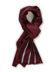 Woven scarf - wine