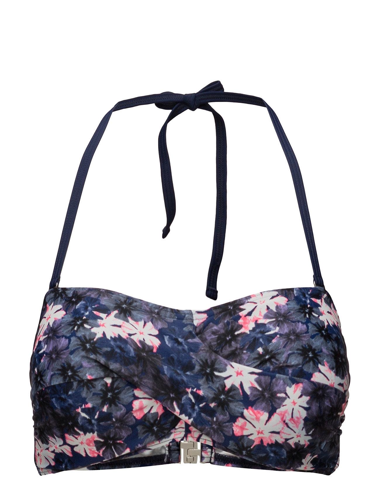 Blossom, Twisted Bandeau Navy Abecita Bikinier til Damer i