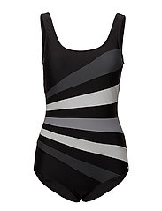 Action Swimsuit - BLACK/GREY