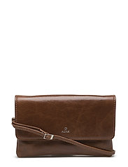 Salerno evening bag Almira - BROWN