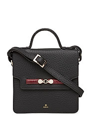 Caroline Berg shoulder bag Charlotte - BLACK RUBINO