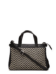 Alba handbag Aila - BLACK/WHITE
