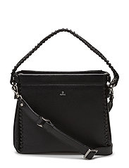 Sicilia shoulder bag Beata - BLACK