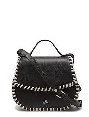 Sicilia shoulder bag Celie - BLACK WHITE