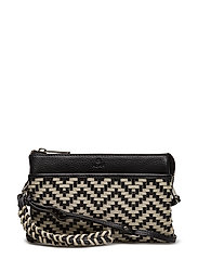 Alba combi clutch Eline - BLACK/WHITE