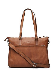 Napoli working bag Malia - COGNAC