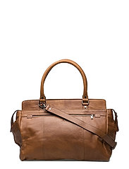 Napoli weekend bag Eugen - COGNAC