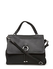 Ruby handbag Agata - BLACK