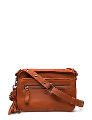 Ruby shoulder bag Elie - PAPAYA