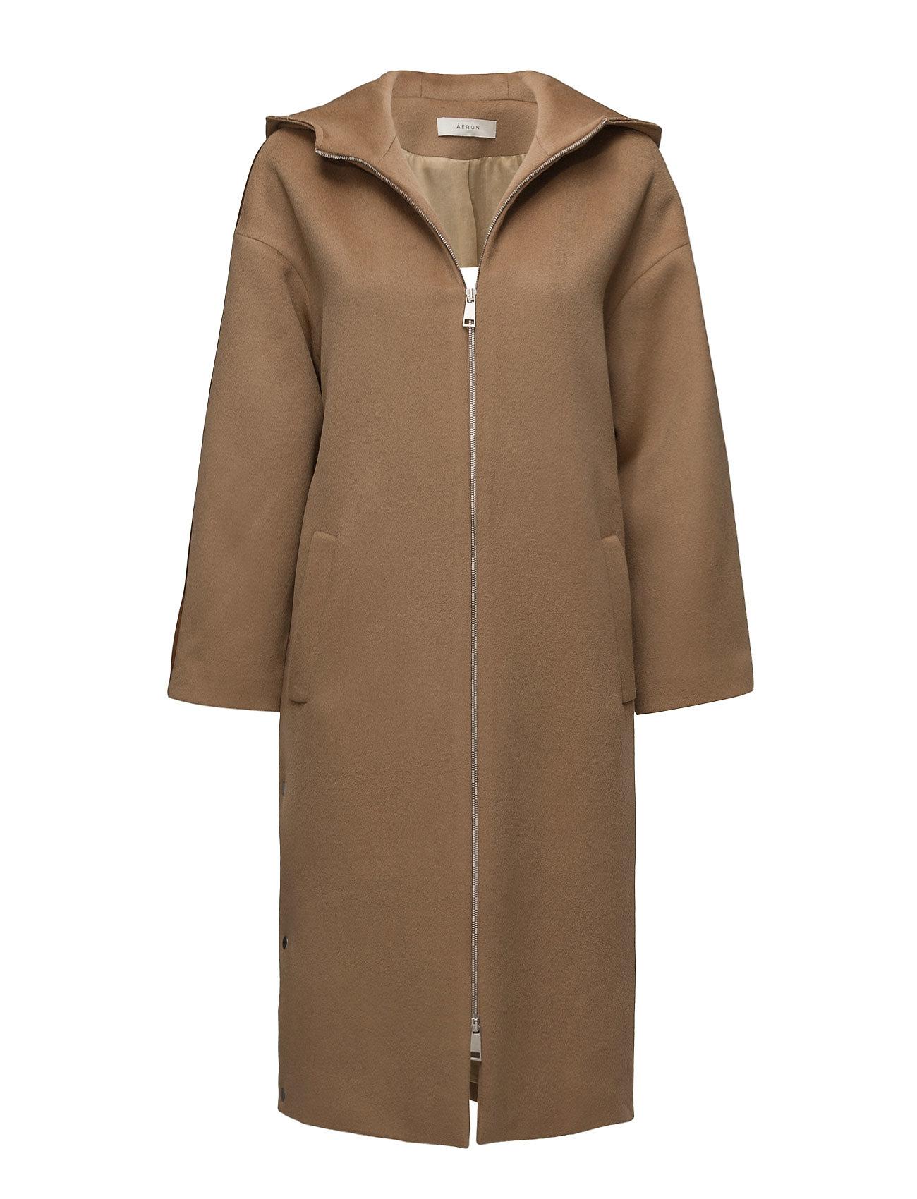 ãeron – Long hooded parka coat fra boozt.com dk