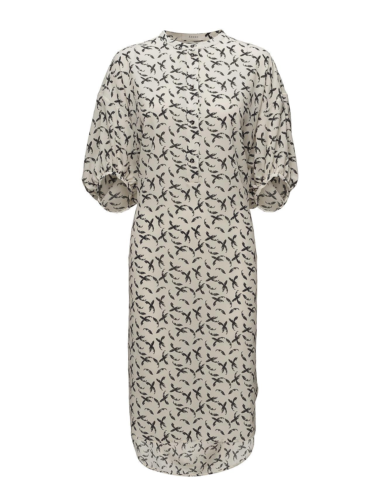 Image of Long Gathered Sleeve Dress (2889268401)