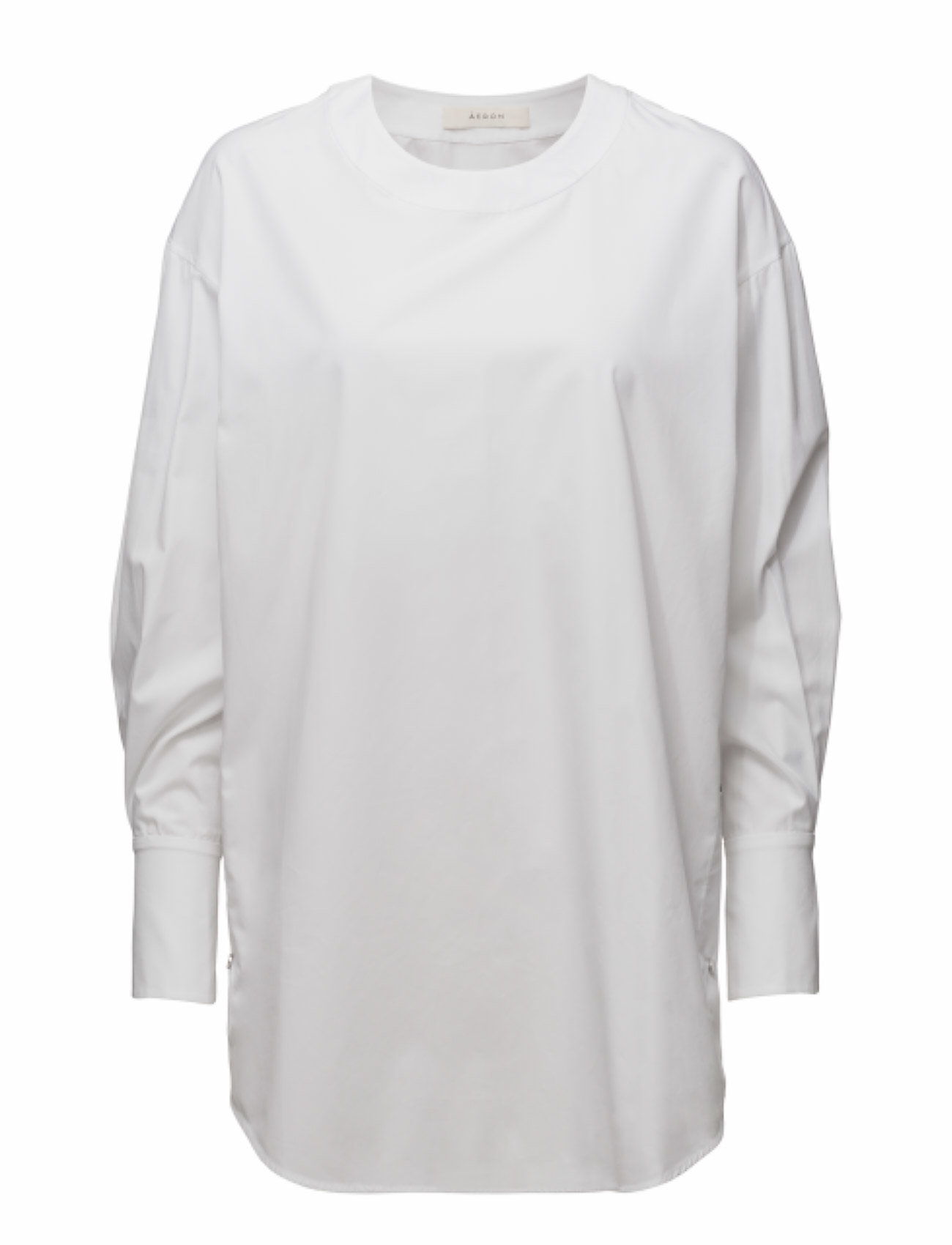 ãeron Tunic blouse with snaps fra boozt.com dk