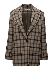 Power Suit Blazer - BROWN